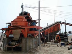 Sand Making Process Flow